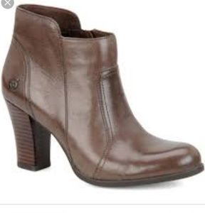 3dabd6ca49e9 Born Shoes - Born Clair ankle booties 9.5 M brown leather heels
